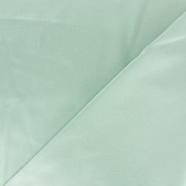 Tissu Satin Duchesse - vert d'eau x 10cm