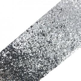 Bande glitter largeur 10 cm - perle brillant x 50cm