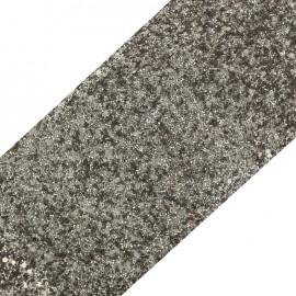 Bande glitter largeur 10 cm - tourdille mat x 50cm