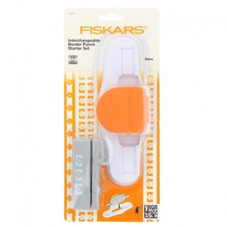 Perforatrice de Lisière Interchangeable - Starter pack - Fiskars