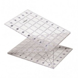 """Règle acrylique pliable 6""""x24"""" / 15 x 61 cm - Fiskars"""