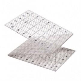 "Foldable acrylic rule 6 ""x 24"" / 15 x 61 cm - Fiskars"