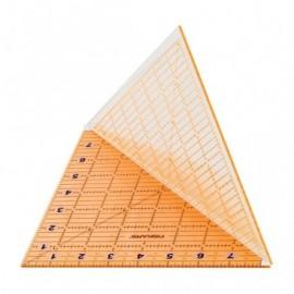"Foldable acrylic rule 8 ""x 8"" / 20 x 20 cm - Fiskars"