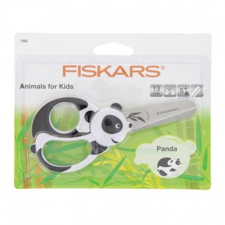 Kids scissors - Panda 13 cm, left - and right-handed Fiskars