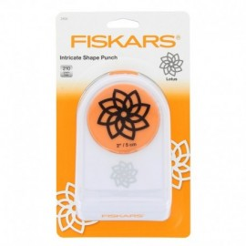 Hemstitch - Lotus - Fiskars punch