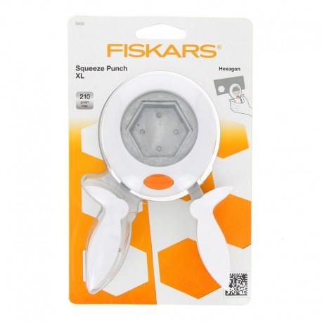 Punch Squeeze XL - Hexagon - Fiskars Punch