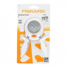 Punch Squeeze Punch - heart - L Fiskars