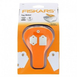 Tag Maker - Standard & scalloped - Fiskars
