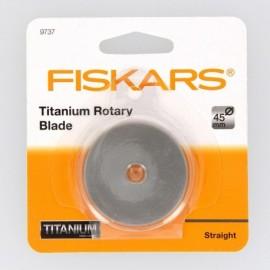 Lame circulaire Titanium 45 mm coupe droite - Fiskars