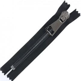 Non-seperable Zipper XL - black