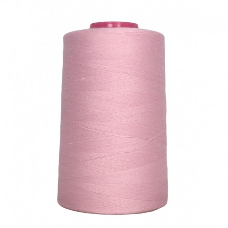 Sewing thread cone 4 573 m 100% polyester - sewing hobbies pale rose