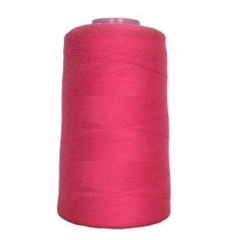 Cone of thread sewing fuschia 4 573 m 100% polyester - sewing hobbies