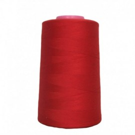 Sewing thread cone red 4 573 m 100% polyester - sewing hobbies