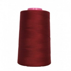 Sewing thread cone bordeaux 4 573 m 100% polyester - sewing hobbies