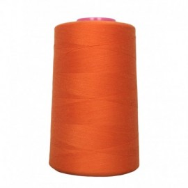 Sewing thread cone orange 4 573 m 100% polyester - sewing hobbies