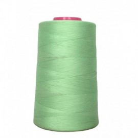 Sewing thread cone 4 573 m 100% polyester - sewing hobbies pale green