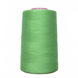 Sewing thread cone green 4 573 m 100% polyester - sewing hobbies
