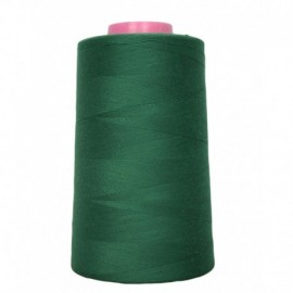 Sewing thread cone 4 573 m 100% polyester - sewing hobbies English Green