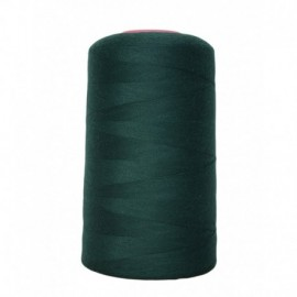 Cone of sewing thread 4 573 100% polyester - sewing hobbies m Green