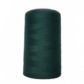 Cone de fil à coudre vert foncé  4 573 m 100% polyester - Couture loisirs