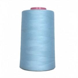 Cone de fil à coudre Bleu ciel 4 573 m 100% polyester - Couture loisirs