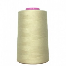 Sewing thread cone natural 4 573 m 100% polyester - sewing hobbies