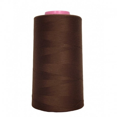 Sewing thread cone light brown 4 573 m 100% polyester - sewing hobbies
