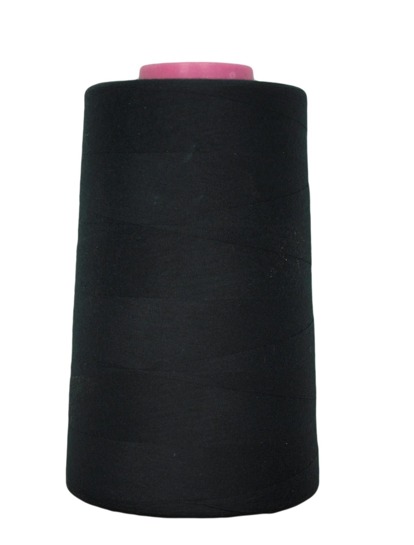 Cone De Fil Coudre Noir 4 573 M 100 Polyester Couture Loisirs