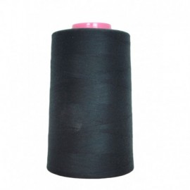 Cone de fil à coudre anthracite 4 573 m 100% polyester - Couture loisirs