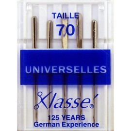 Aiguilles machines universelles 70/10 - Couture loisirs