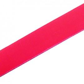 Elastique plat fluo rose 25mm