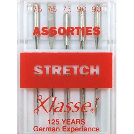 Aiguilles machine stretch assorties - Couture loisirs