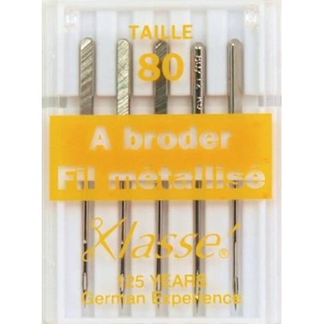 Needles machine metalfil 80/12 - sewing hobbies