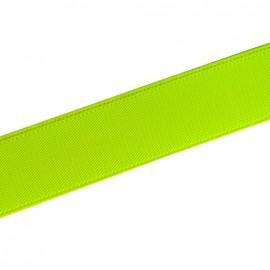 Elastique plat fluo jaune 25mm
