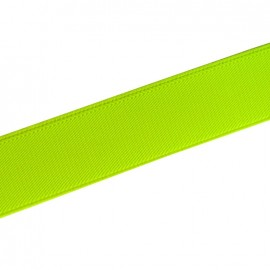 Flat elastic 25mm - Fluorescent yellow