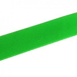 Elastique plat fluo vert 25mm
