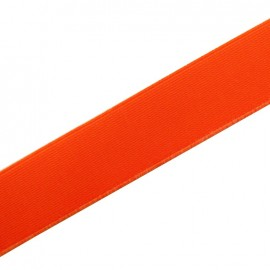 Elastique plat fluo orange 25mm