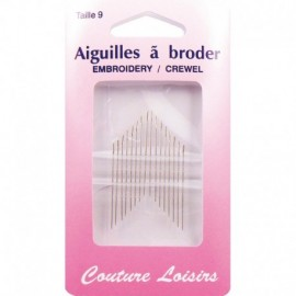Needles to embroider n ° 9 X 16 - sewing hobbies