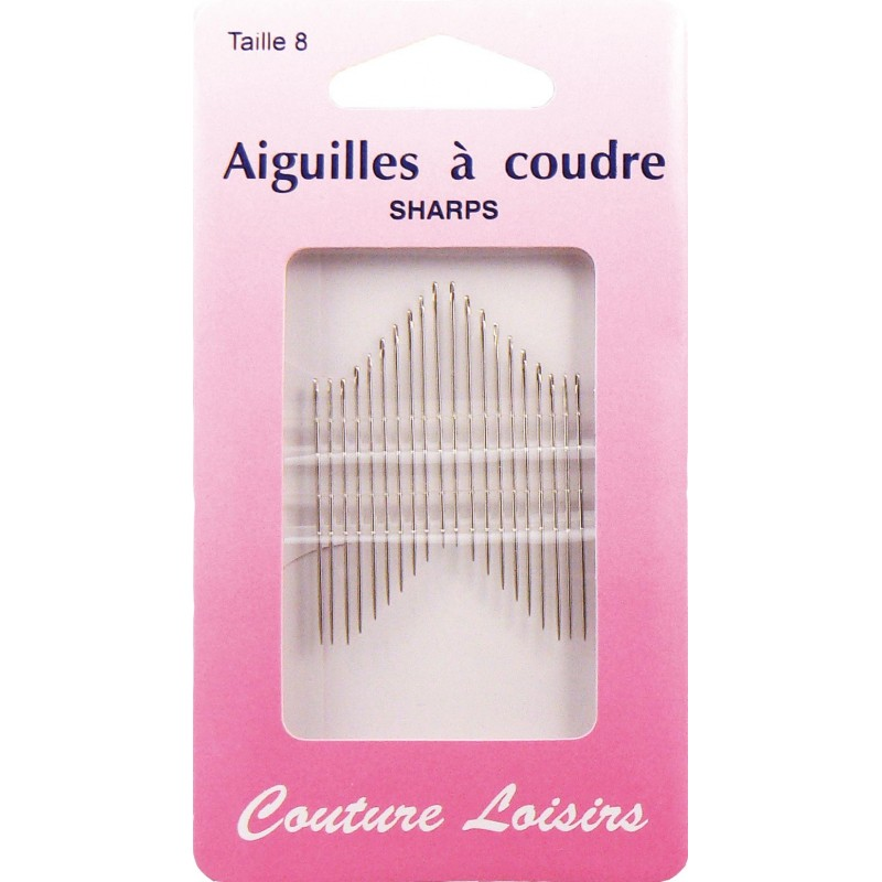 Aiguilles coudre n 8 x20 couture loisirs ma petite for Aiguille a couture