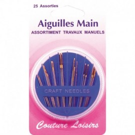 Needles assorted X 25 - sewing Hobbies Crafts