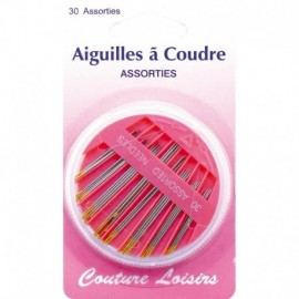 Needles to sew assorted household X 30 - sewing hobbies