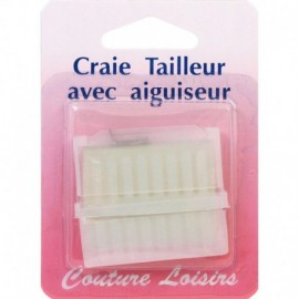 Chalk tailor with Sharpener and protection box - sewing hobbies