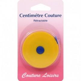 Centimètre rétractable (couleurs aléatoires) 150 cm - Couture loisirs