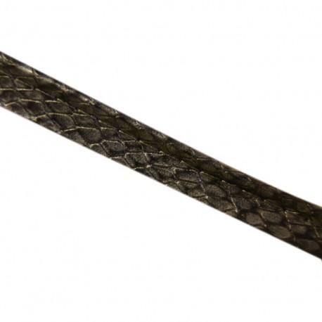 Imitation Snake Piping - Grey