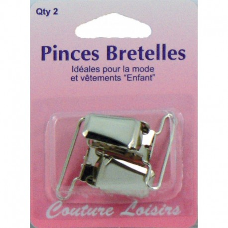 Clamps for braces plated color X 2 - sewing hobbies