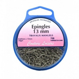 Epingles travaux manuels ±710 25g- 13 x0,65mm - Couture loisirs