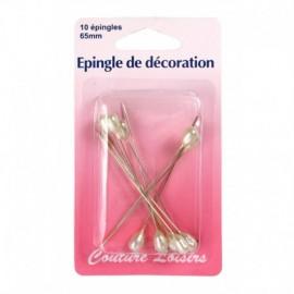 Epingle de décoration x 10 - Couture loisirs