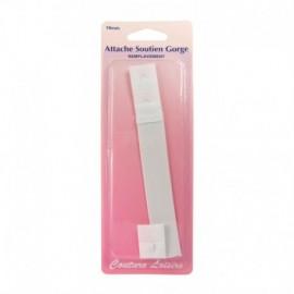 Dos de soutien-gorges blanc 19 mm - Couture loisirs