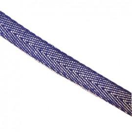 Ruban Sergé Denim bleu