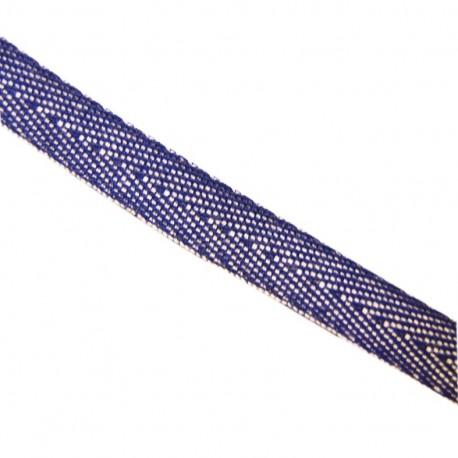 Twill Denim Ribbon - Blue